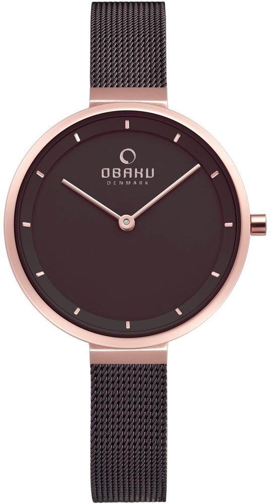 Zegarek damski Obaku Denmark slim V225LXVNMN - duże 1