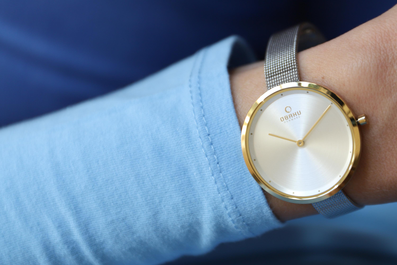 Zegarek damski Obaku Denmark slim V227LXGIMC - duże 5