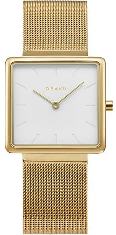 Zegarek damski Obaku Denmark slim V236LXGIMG - duże 1