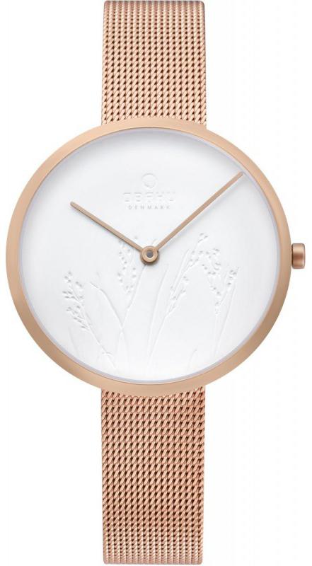 Zegarek damski Obaku Denmark slim V219LXVHMV - duże 1