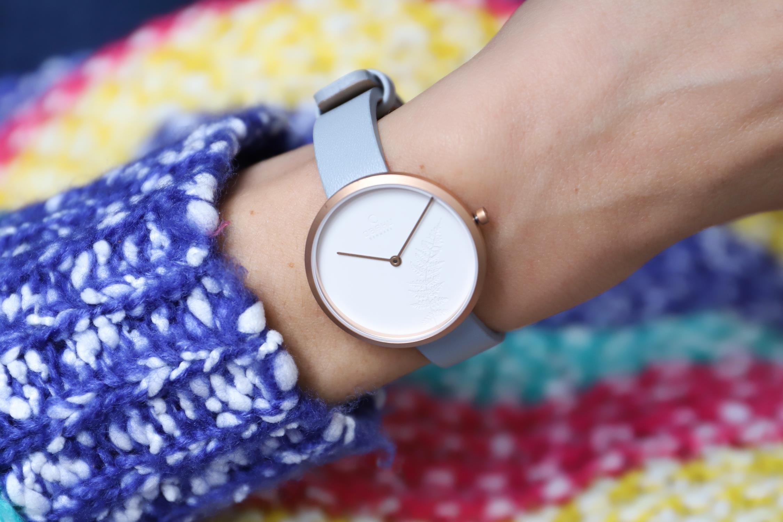 Zegarek damski Obaku Denmark slim V219LXVHRL - duże 2