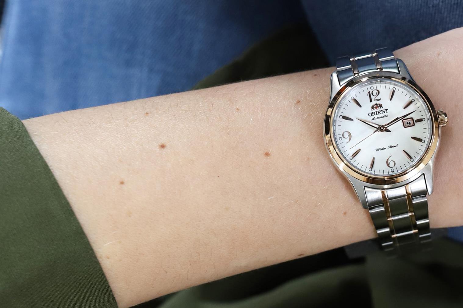 Zegarek damski Orient classic automatic FNR1Q002W0 - duże 2