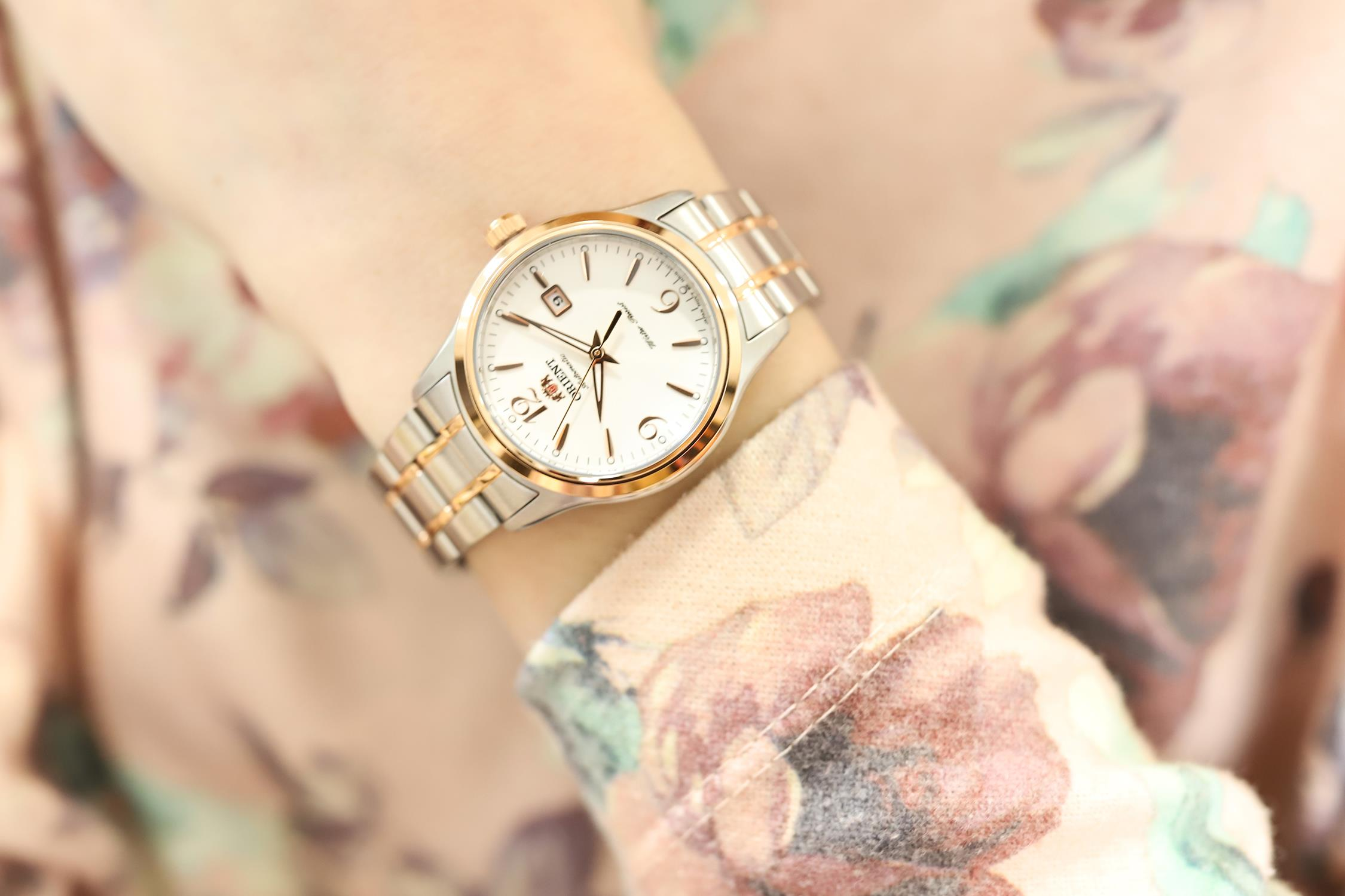 Zegarek damski Orient classic automatic FNR1Q002W0 - duże 1