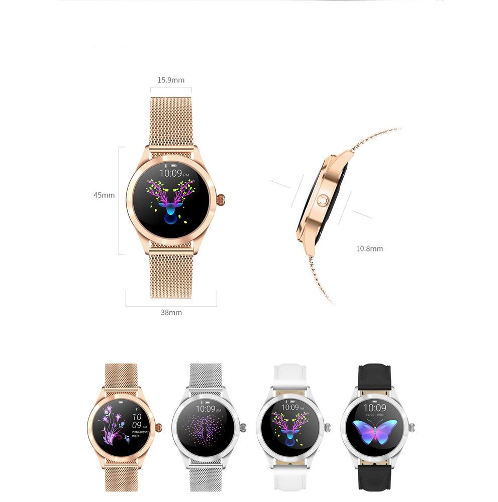 Zegarek damski Rubicon smartwatch RNBE37RIBX05AX - duże 3