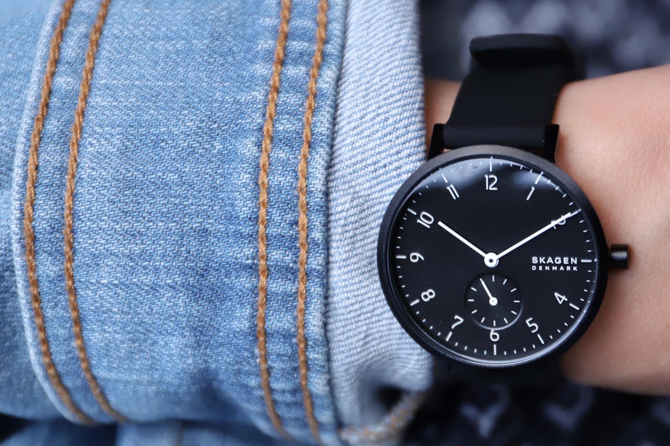 Zegarek damski Skagen aaren SKW2801 - duże 5