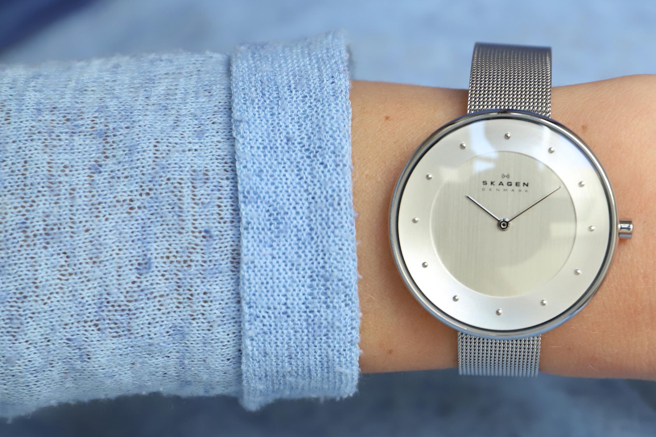 Zegarek damski Skagen gitte SKW2140 - duże 3