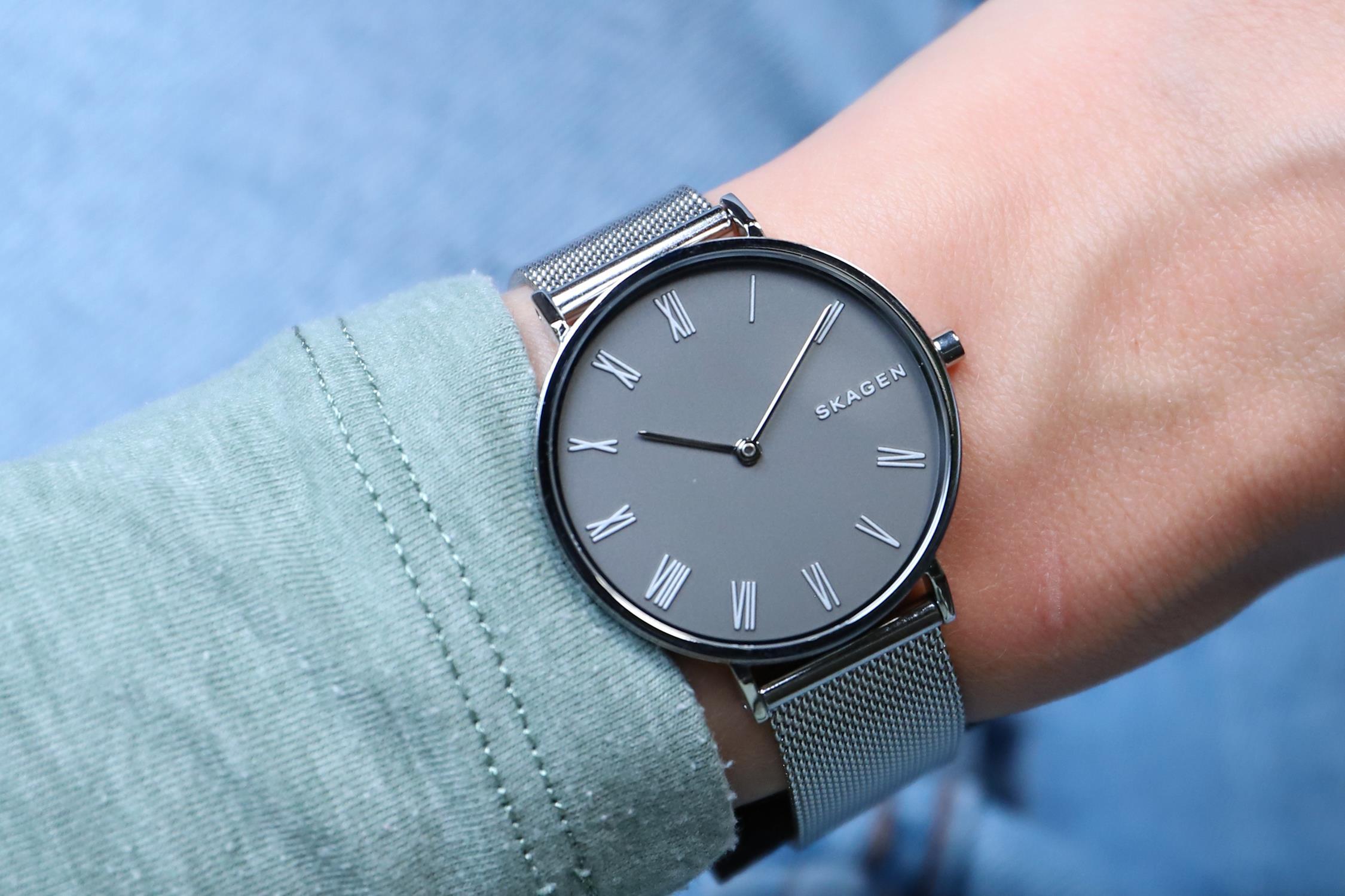 Zegarek damski Skagen hald SKW2677 - duże 2