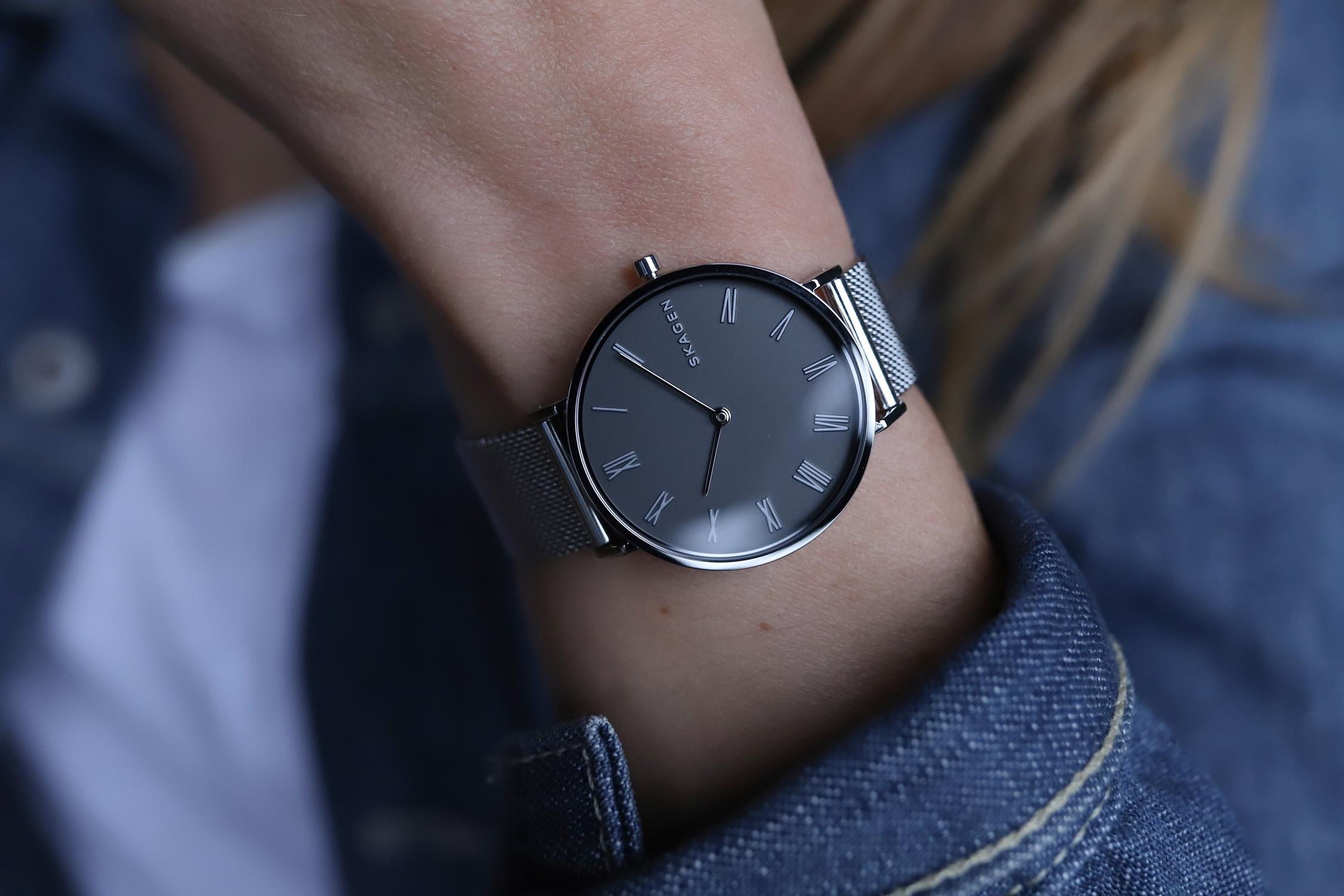 Zegarek damski Skagen hald SKW2677 - duże 5