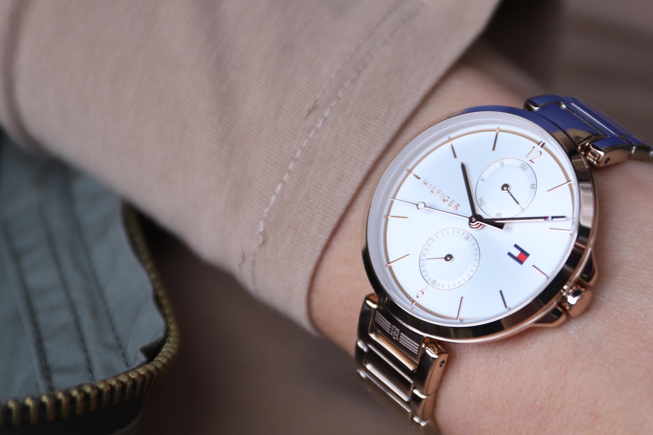 Zegarek damski Tommy Hilfiger damskie 1782124 - duże 6