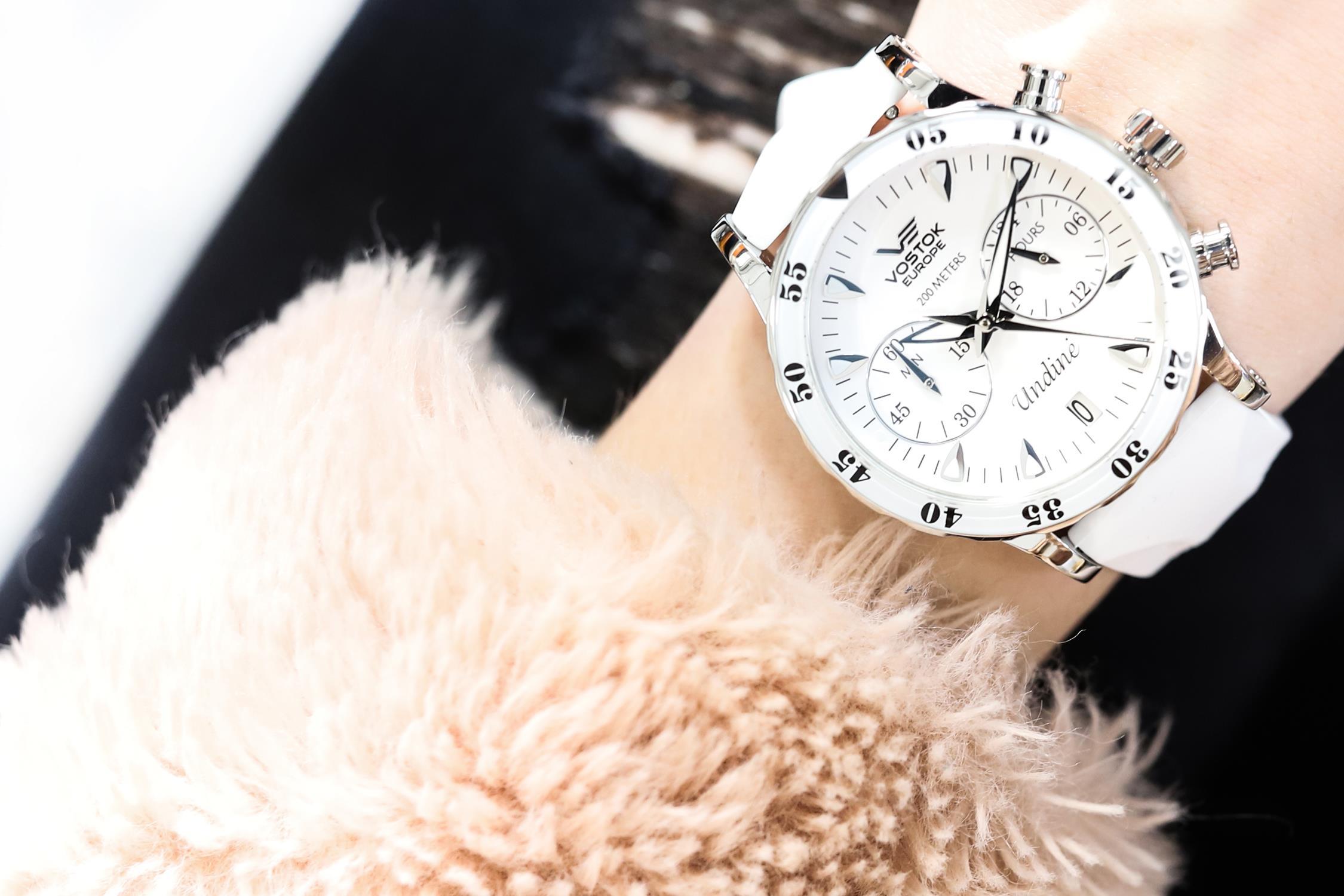 Zegarek damski Vostok Europe undine VK64-515A524 - duże 7