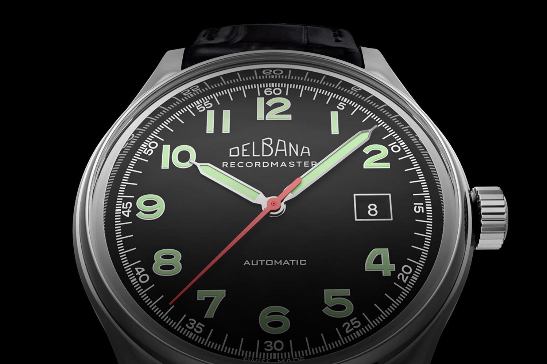 Zegarek męski Delbana recordmaster 41602.722.6.032 - duże 5