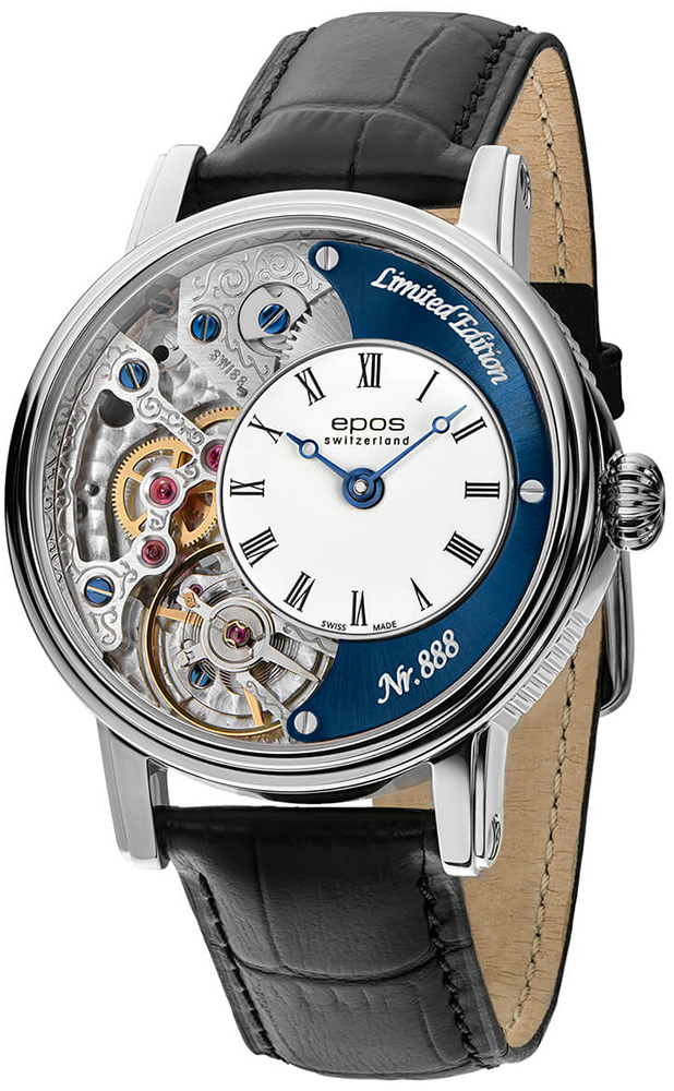 Zegarek męski Epos oeuvre d'art 3435.313.20.26.25 - duże 1