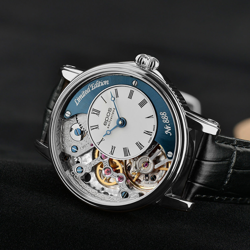 Zegarek męski Epos oeuvre d'art 3435.313.20.26.25 - duże 9