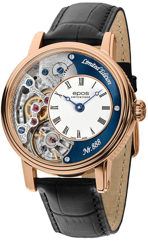 Zegarek męski Epos oeuvre d'art 3435.313.24.26.25 - duże 1