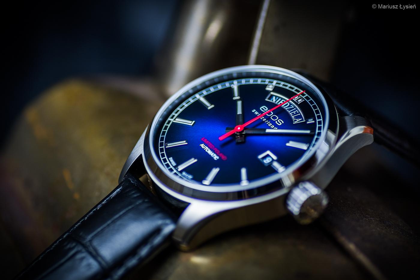 Zegarek męski Epos passion 3501.142.90.96.25 - duże 6