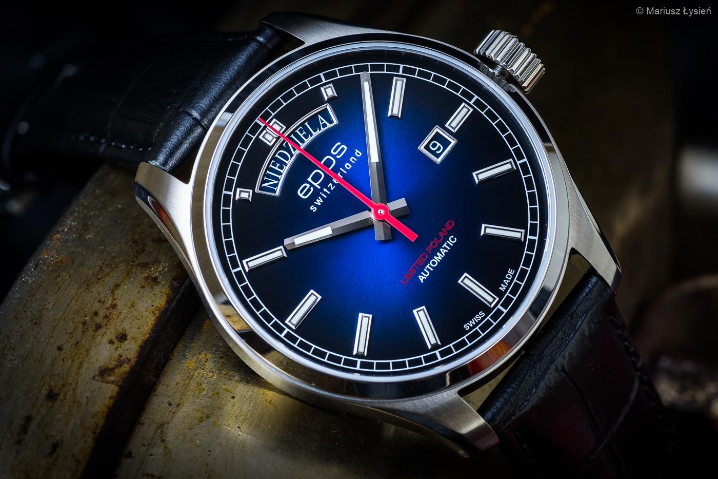 Zegarek męski Epos passion 3501.142.90.96.25 - duże 2