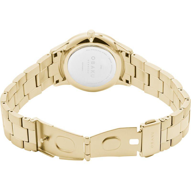 Zegarek damski Obaku Denmark slim V247LXGWSG - duże 3