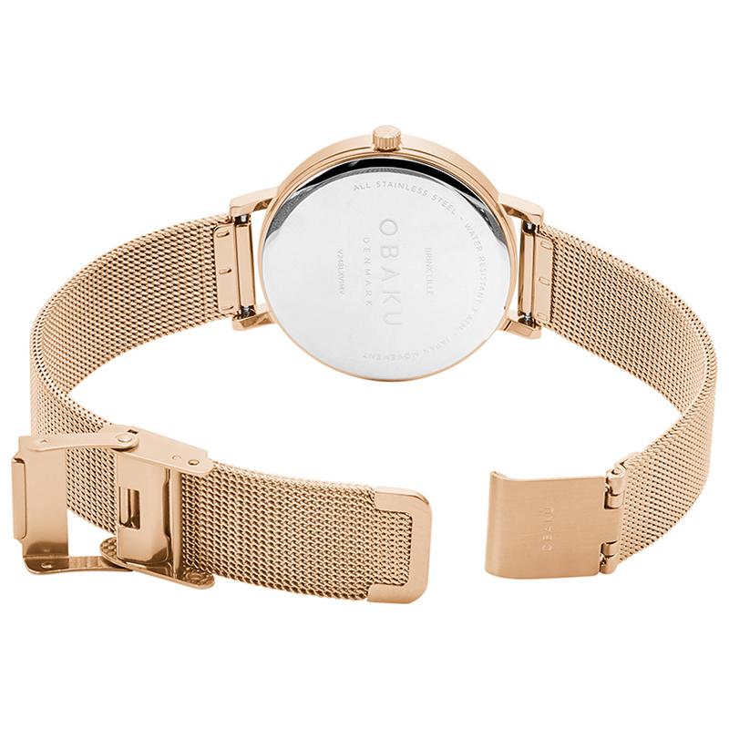 Zegarek damski Obaku Denmark slim V248LXVIMV - duże 4