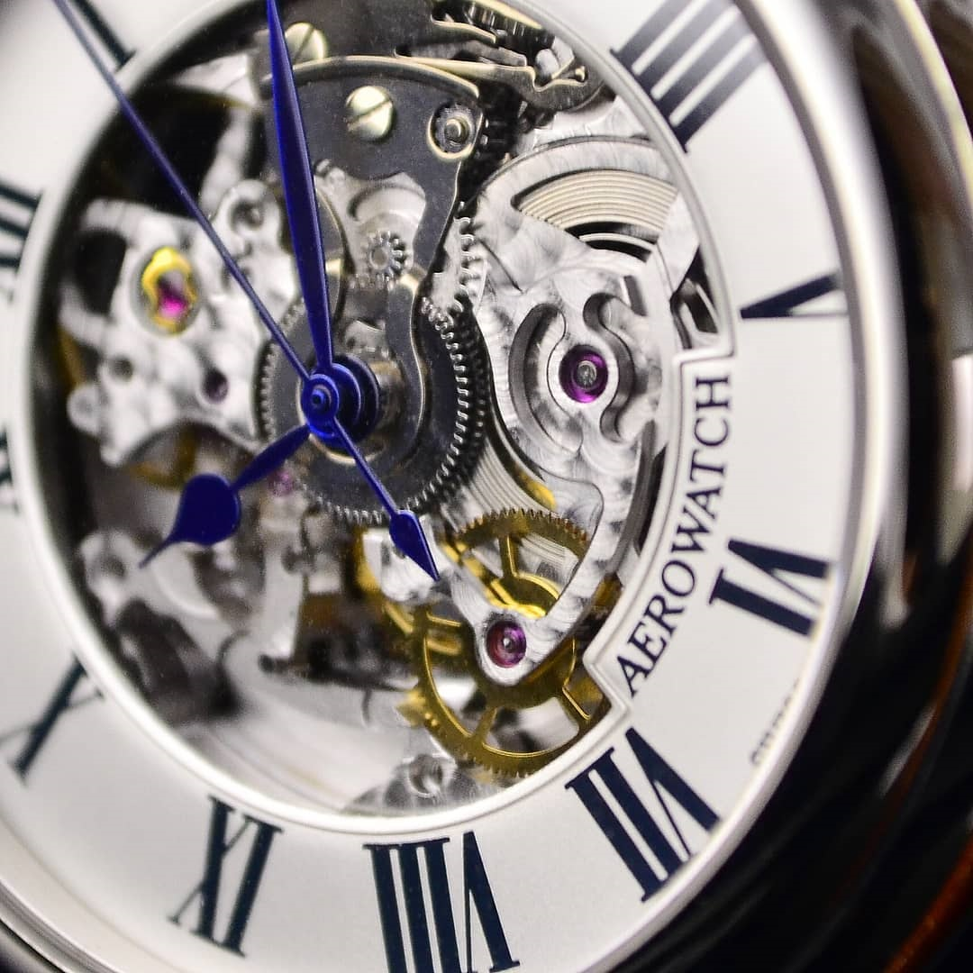 Zegarek męski Aerowatch 1942 60900-AA22 - duże 1