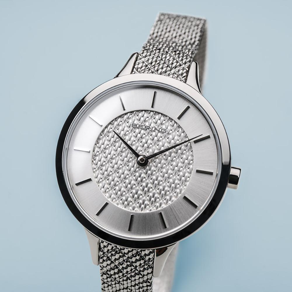 Zegarek damski Bering classic 17831-000 - duże 2