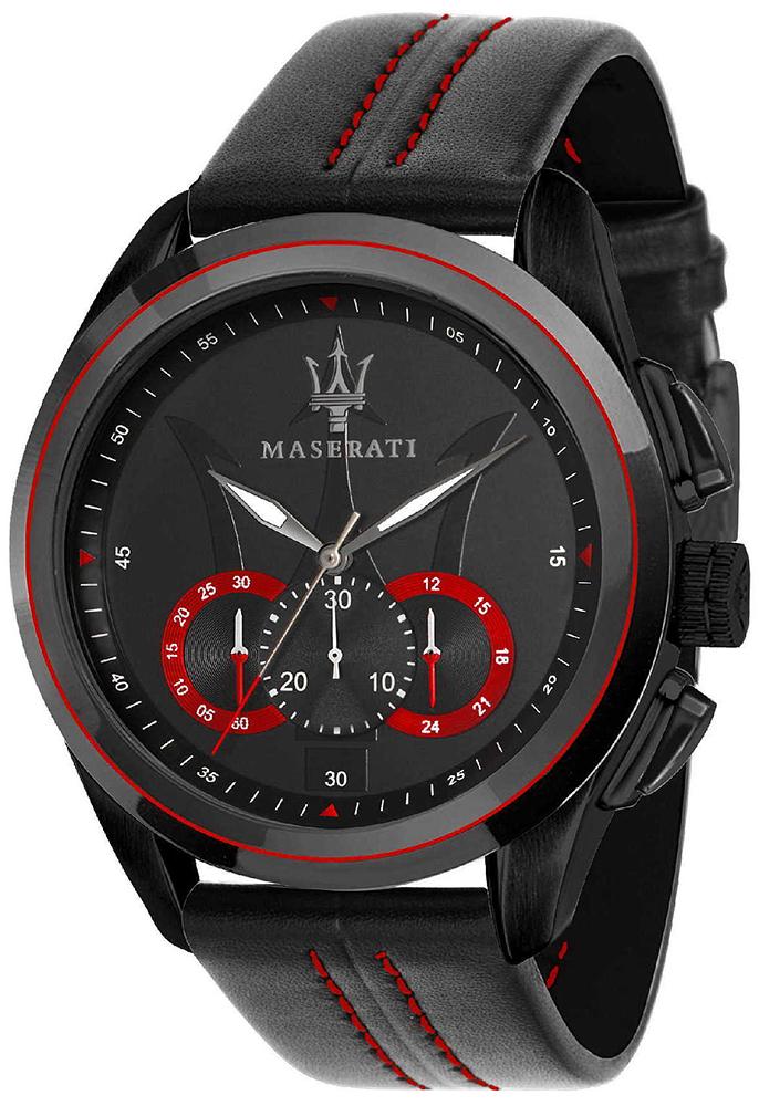Zegarek męski Maserati traguardo R8871612023 - duże 1