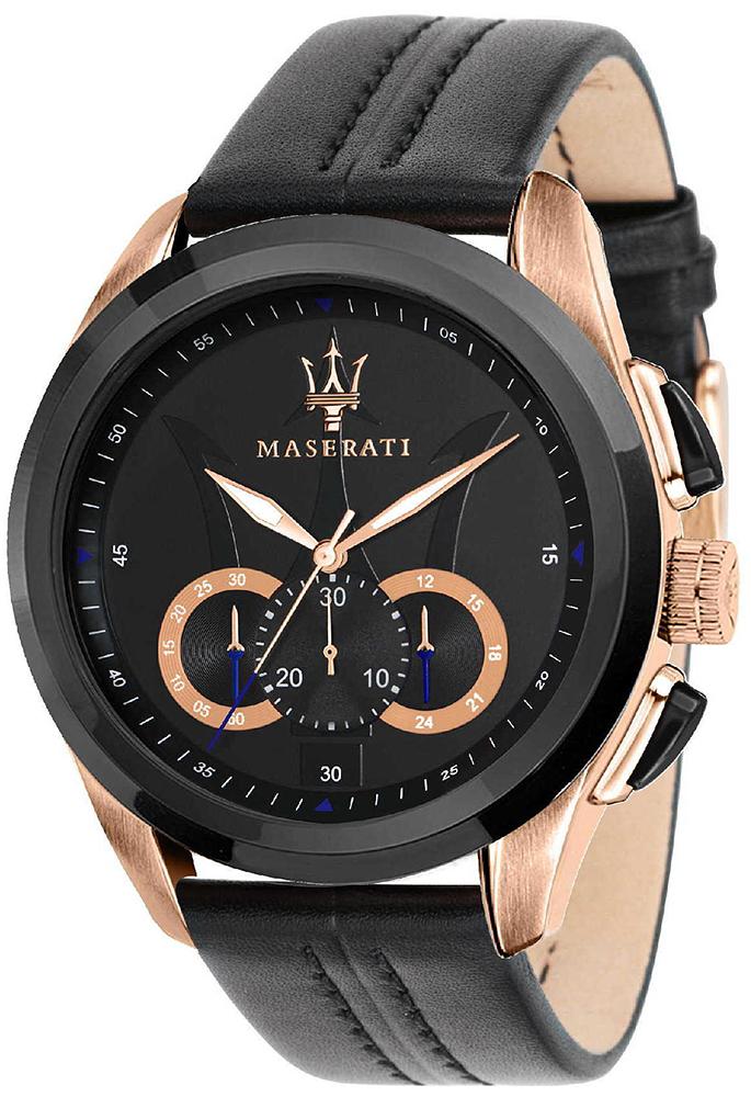 Zegarek męski Maserati traguardo R8871612025 - duże 1