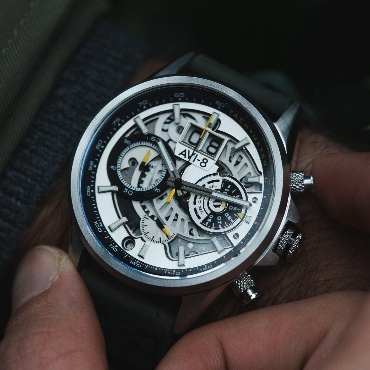 Zegarek męski AVI-8 hawker harrier ii AV-4065-01 - duże 1