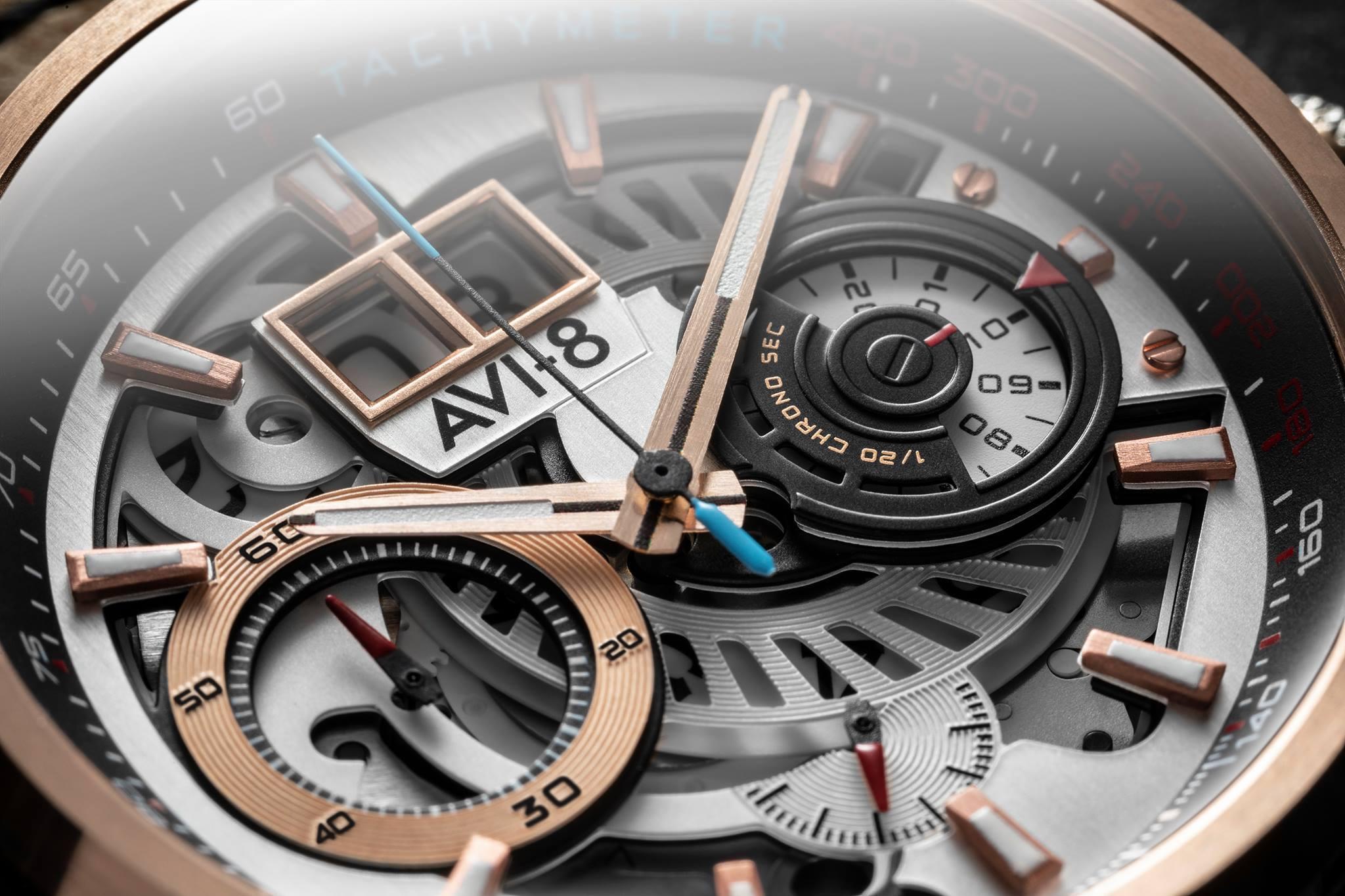 Zegarek męski AVI-8 hawker harrier ii AV-4065-02 - duże 1
