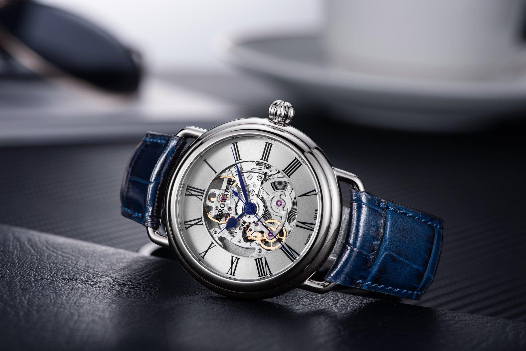 Zegarek męski Aerowatch 1942 60900-AA22 - duże 3