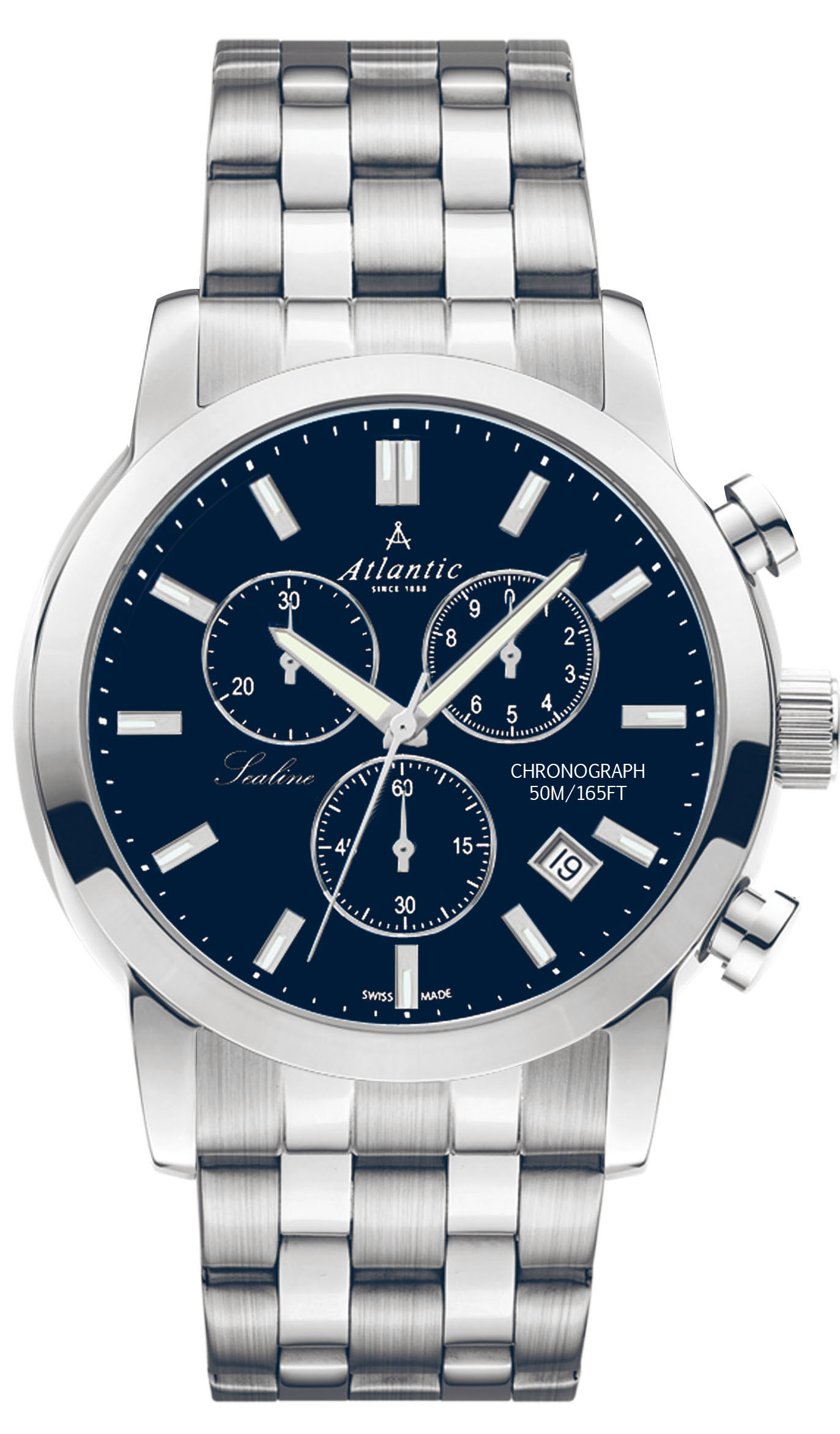 Zegarek męski Atlantic sealine 62455.41.51 - duże 1