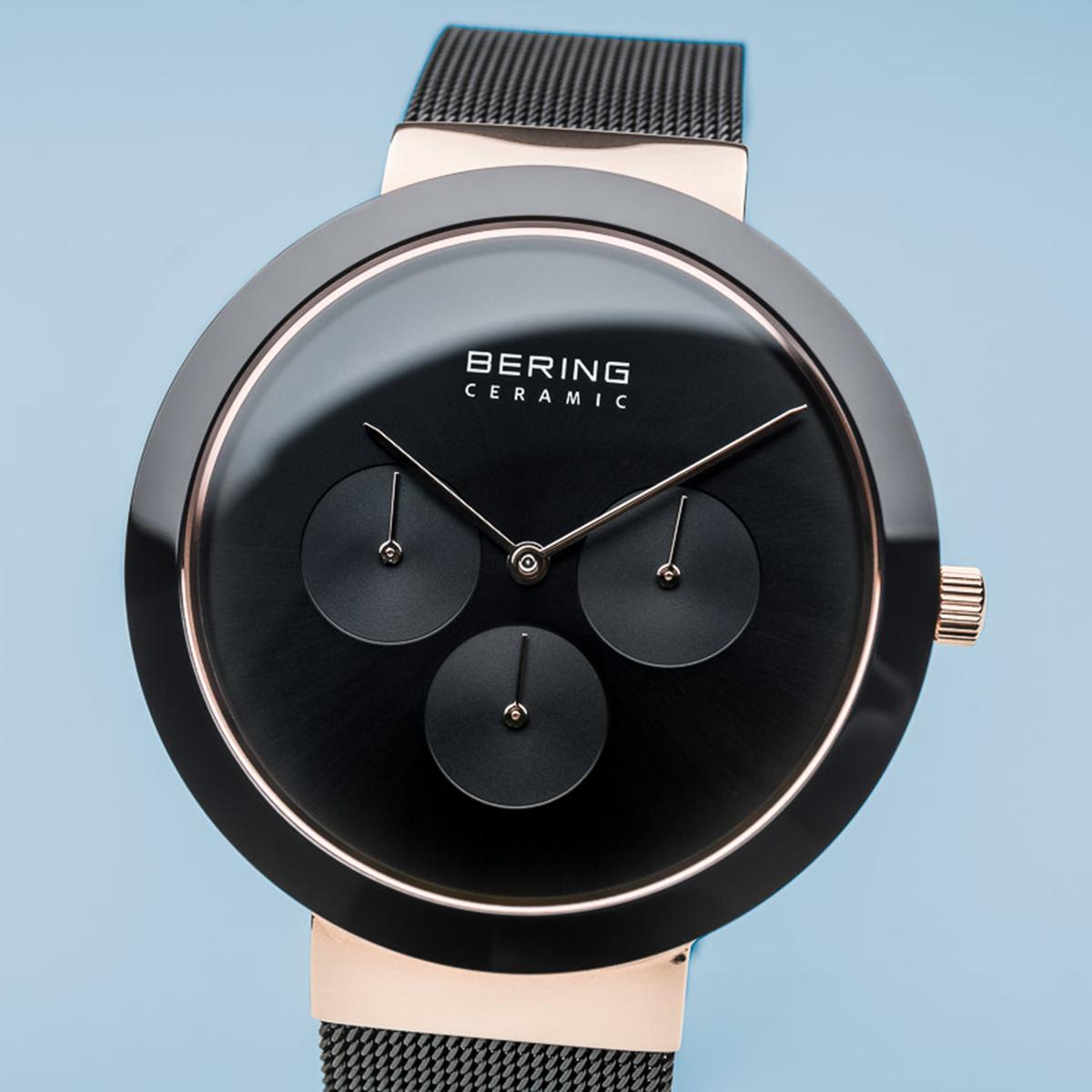 Zegarek męski Bering ceramic 35040-166 - duże 2