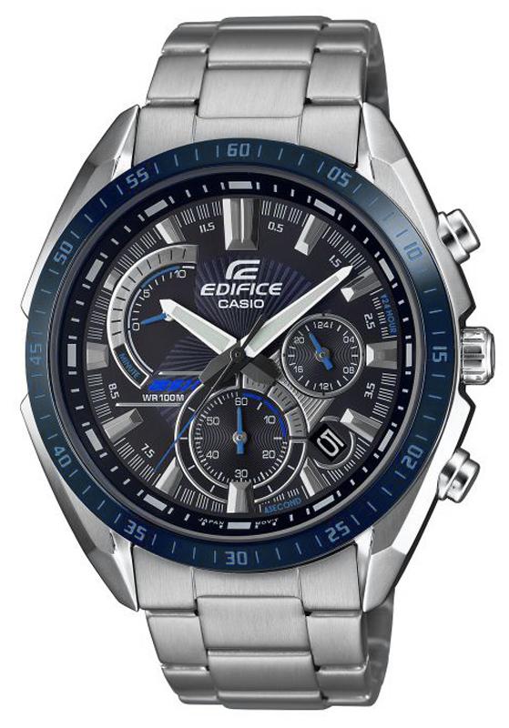 Zegarek męski Casio edifice EFR-570DB-1BVUEF - duże 1