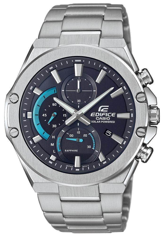Zegarek męski Casio edifice premium EFS-S560D-1AVUEF - duże 1