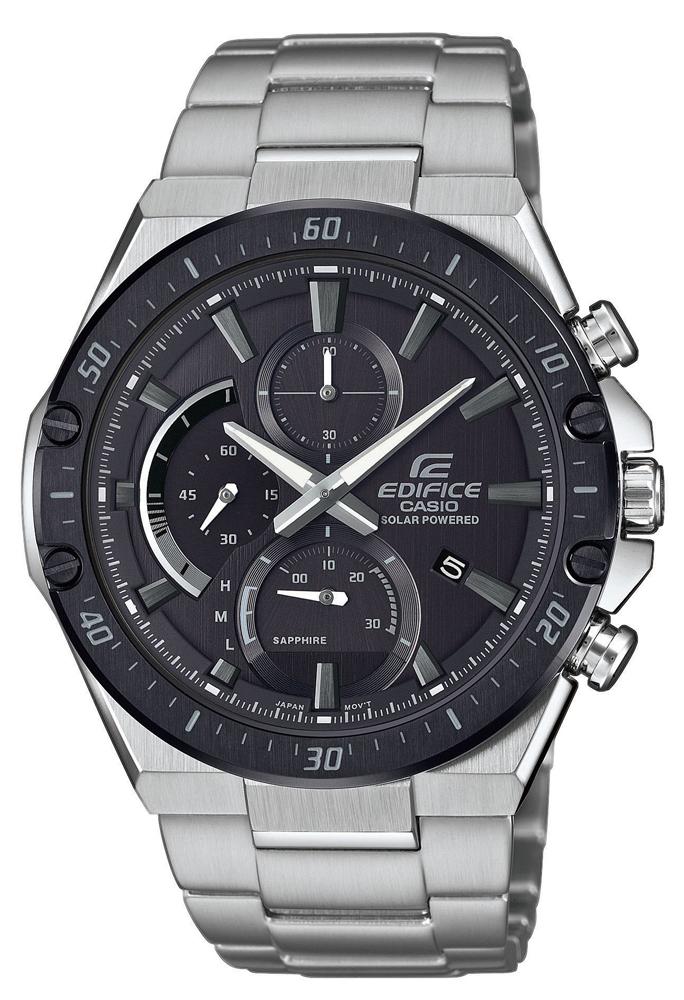 Zegarek męski Casio edifice premium EFS-S560DB-1AVUEF - duże 1