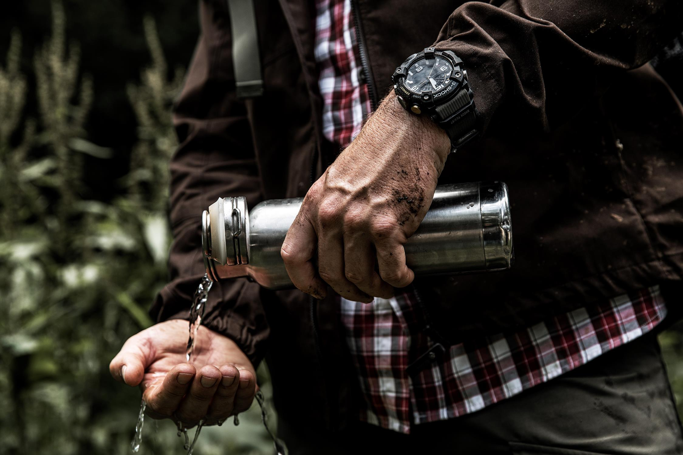 Zegarek męski Casio g-shock master of g GG-B100-1A3ER - duże 8