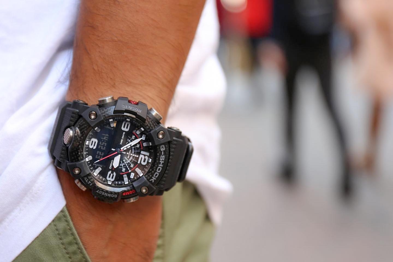 Zegarek męski Casio g-shock master of g GG-B100-1AER - duże 8