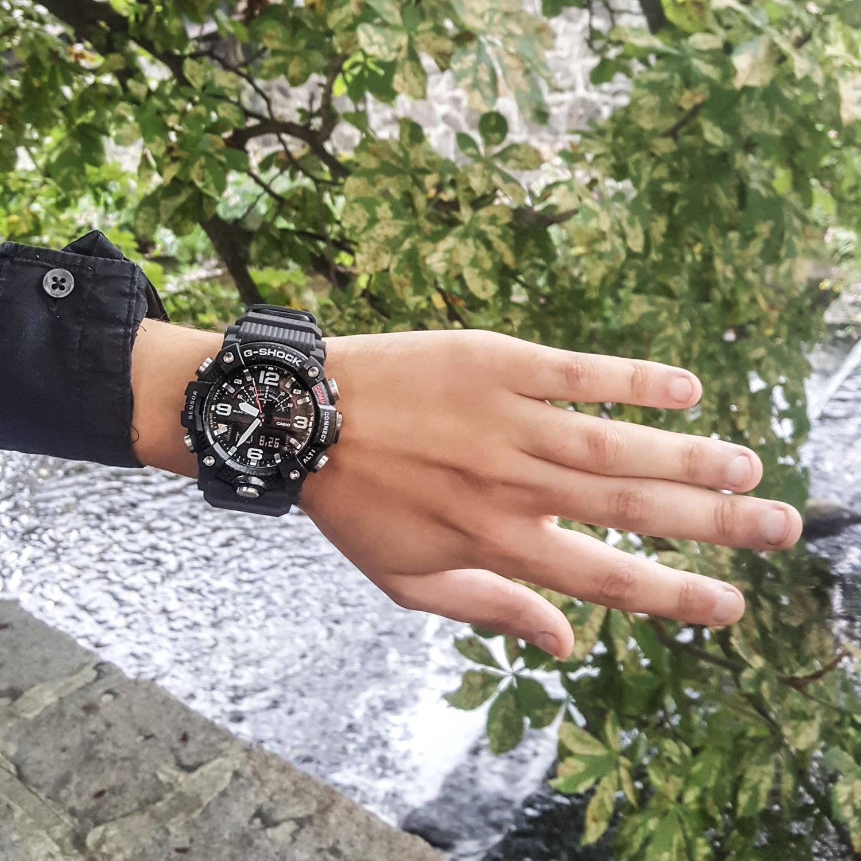Zegarek męski Casio g-shock master of g GG-B100-1AER - duże 10