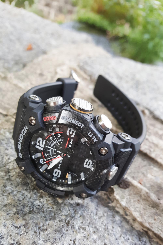 Zegarek męski Casio g-shock master of g GG-B100-1AER - duże 4