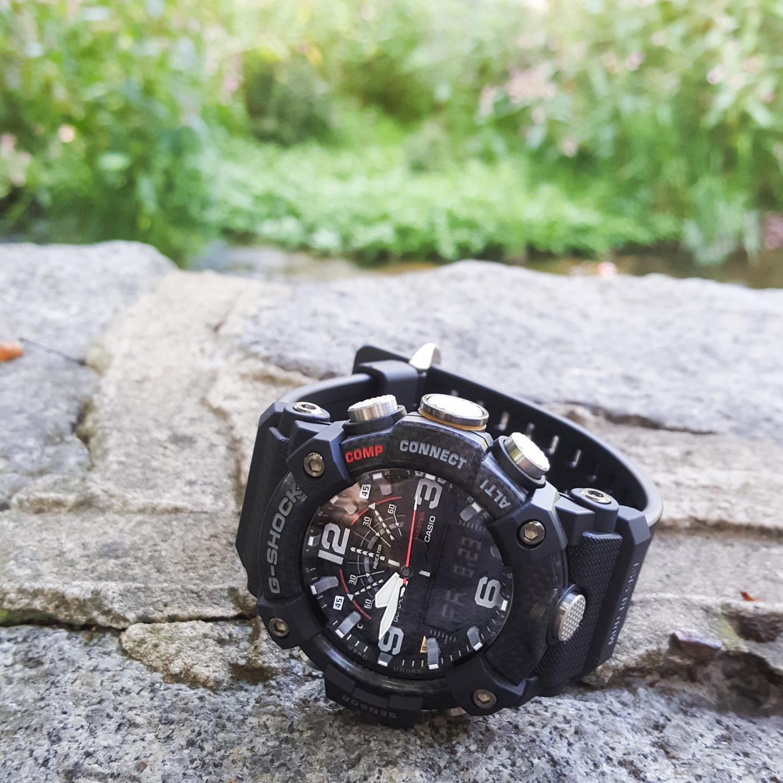 Zegarek męski Casio g-shock master of g GG-B100-1AER - duże 5