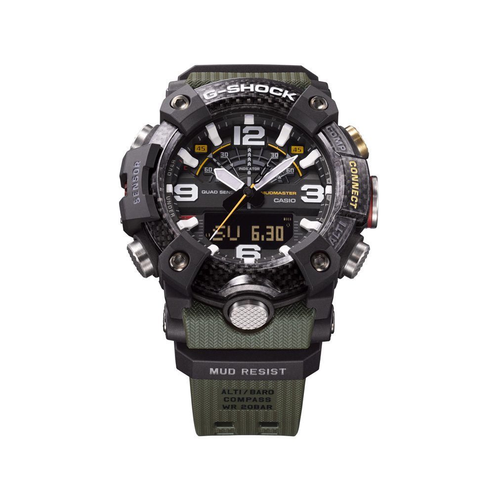 Zegarek męski Casio g-shock master of g GG-B100-1A3ER - duże 1