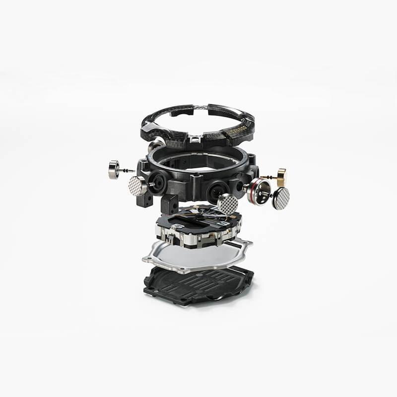 Zegarek męski Casio g-shock master of g GG-B100-1AER - duże 1