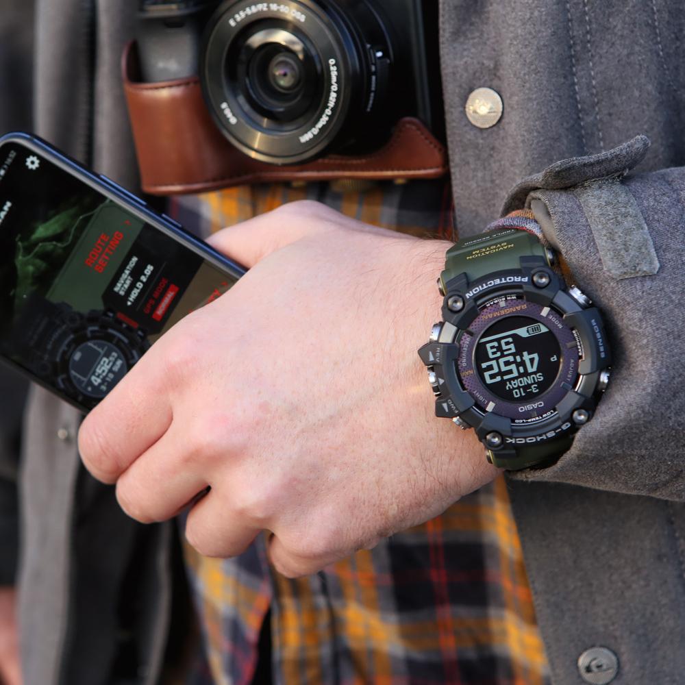 Zegarek męski Casio g-shock master of g GPR-B1000-1BER - duże 6