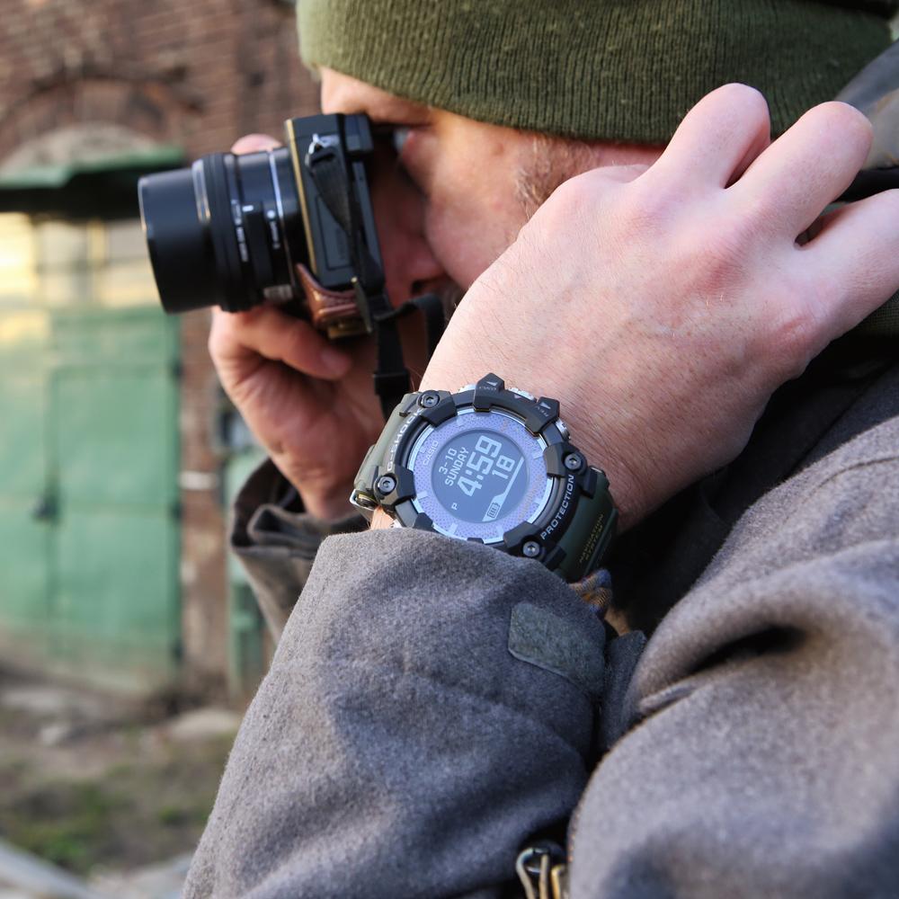 Zegarek męski Casio g-shock master of g GPR-B1000-1BER - duże 4