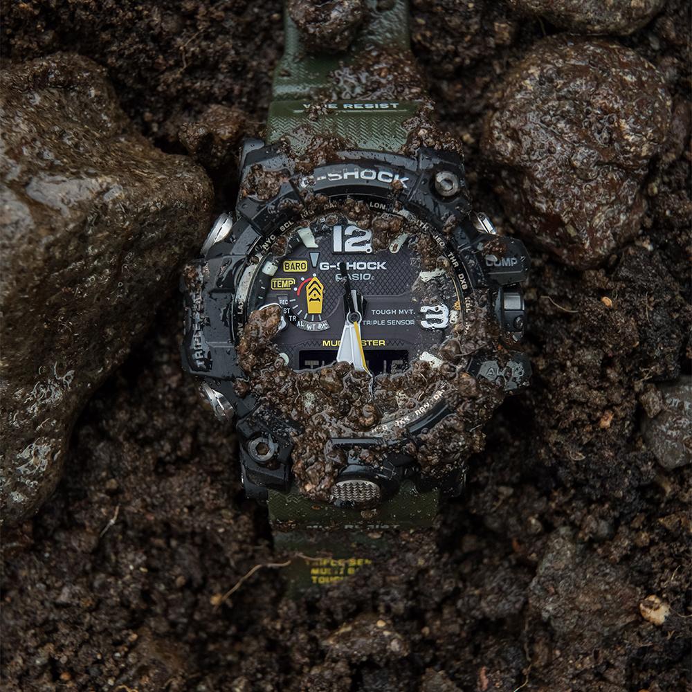 Zegarek męski Casio g-shock master of g GWG-1000-1A3ER - duże 1