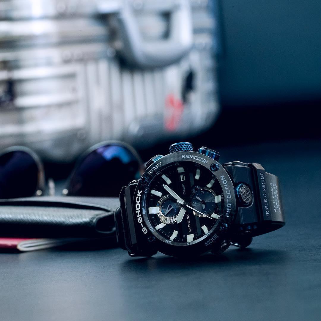 Zegarek męski Casio g-shock master of g GWR-B1000-1A1ER - duże 11