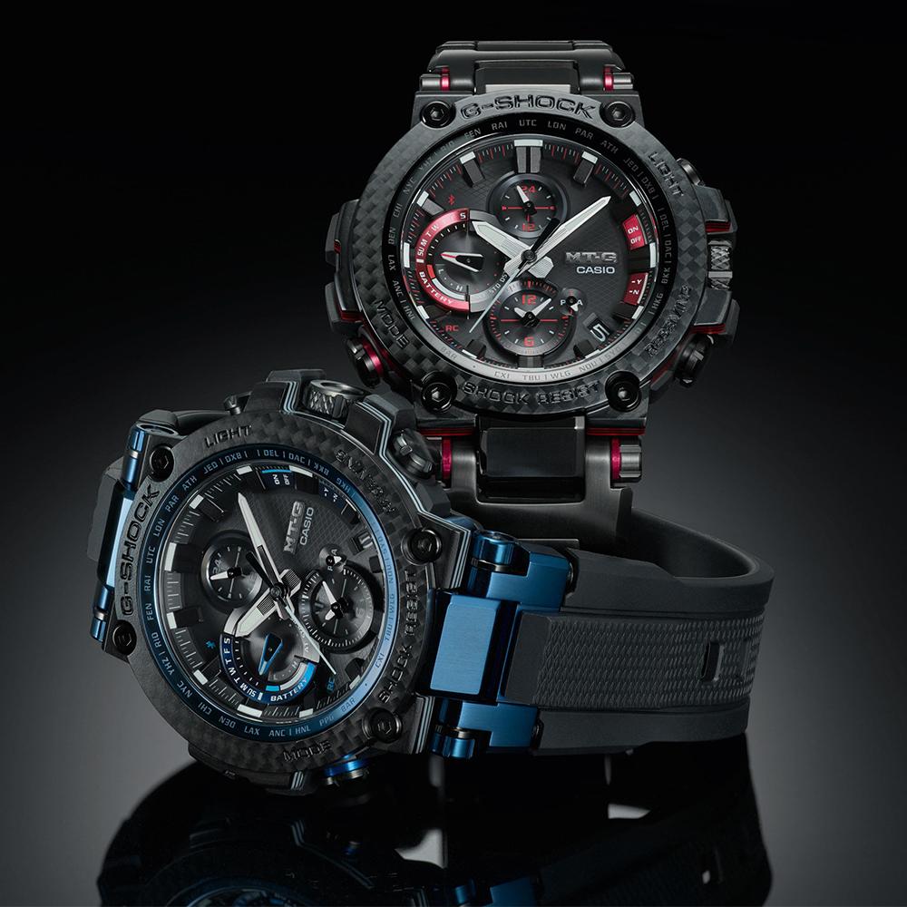 Zegarek męski Casio g-shock MTG-B1000XBD-1AER - duże 3
