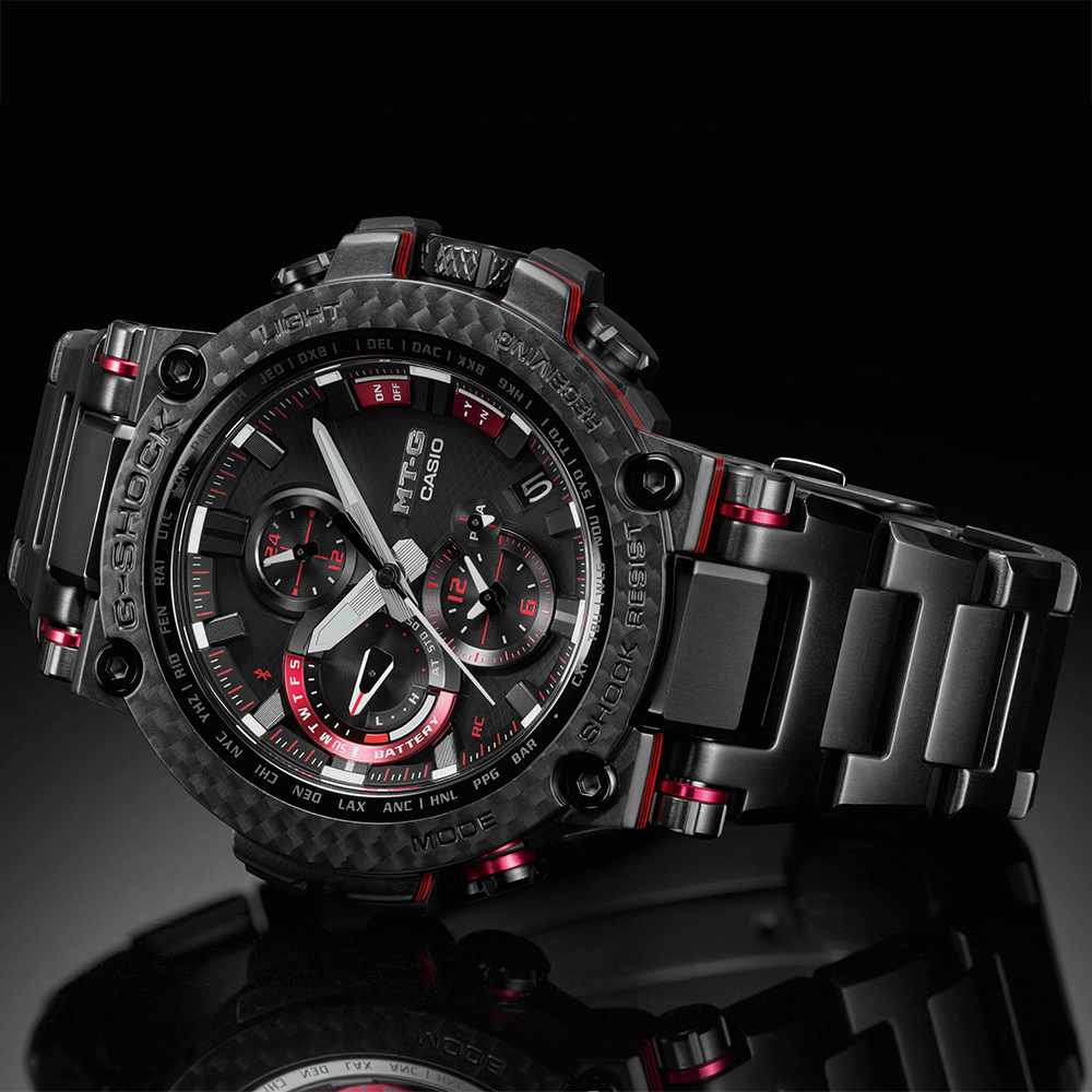 Zegarek męski Casio g-shock MTG-B1000XBD-1AER - duże 5