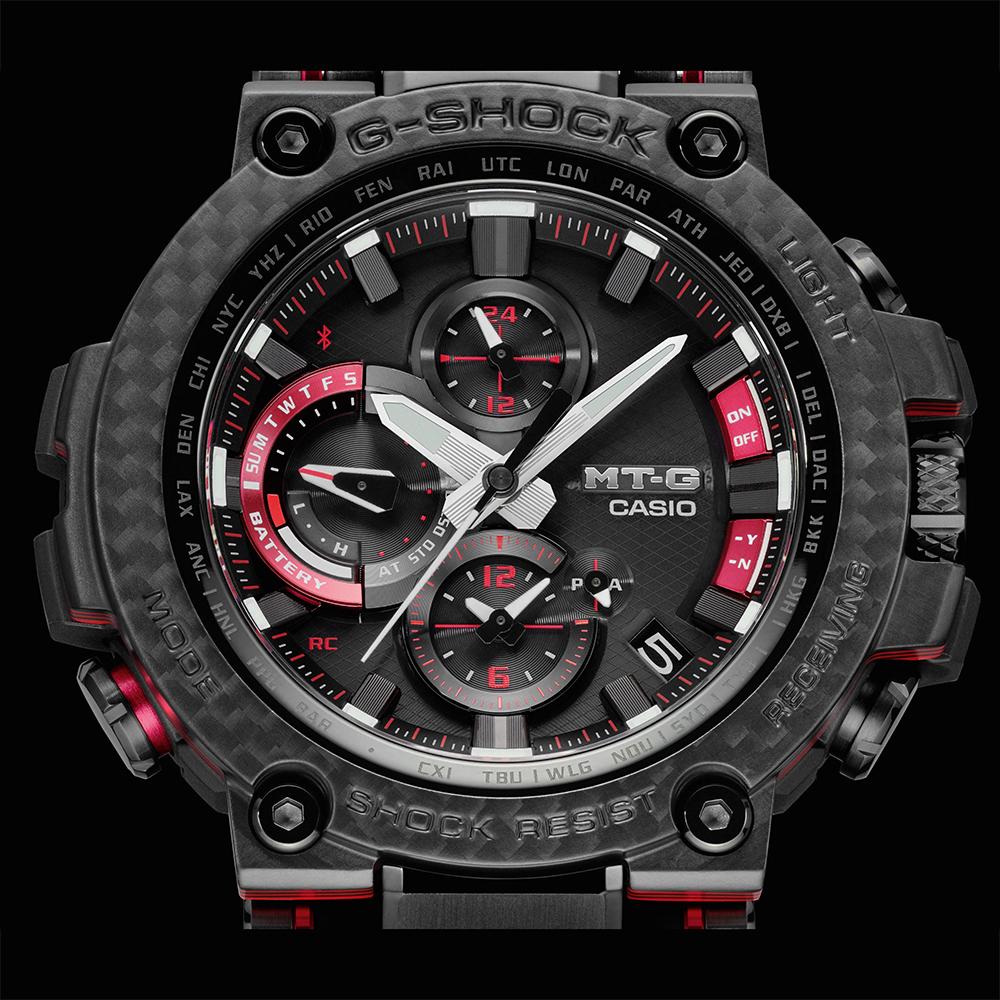 Zegarek męski Casio g-shock MTG-B1000XBD-1AER - duże 4