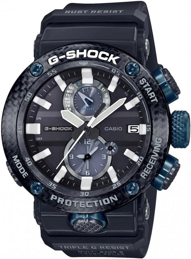 Zegarek męski Casio g-shock master of g GWR-B1000-1A1ER - duże 1