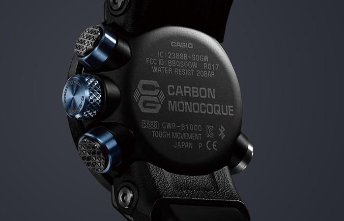 Zegarek męski Casio g-shock master of g GWR-B1000-1A1ER - duże 5